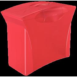 Pojemnik na teczki zawieszane Esselte Europost Vivida - czerwony