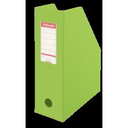 Pojemnik składany na dokumenty Esselte Vivida 100mm - zielony