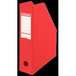 Pojemnik składany na dokumenty Esselte Vivida 70mm - czerwony
