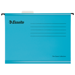 Teczka zawieszana Esselte Classic A4 - niebieska
