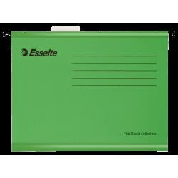 Teczka zawieszana Esselte Classic A4 - zielona