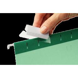 Identyfikatory do teczek zawieszanych Esselte 25szt. - przezroczyste