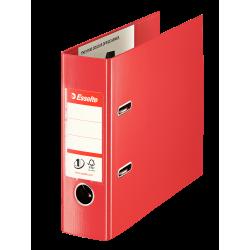 Segregator Esselte Vivida No.1 bankowy A5/75mm - czerwony