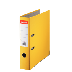 Segregator Esselte ekonomiczny A4/75mm - żółty