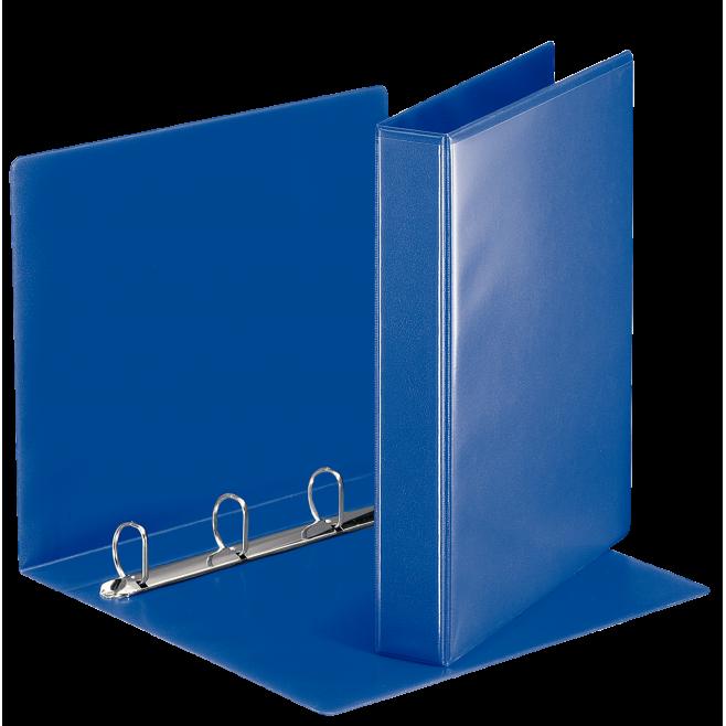 Segregator ofertowy Esselte A4 4DR/30mm, grzbiet 51mm - niebieski