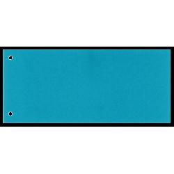 Przekładki kartonowe Esselte 1/3 A4 Maxi - niebieskie