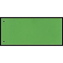Przekładki kartonowe Esselte 1/3 A4 Maxi - zielone