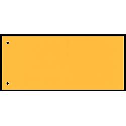 Przekładki kartonowe Esselte 1/3 A4 Maxi - żółte