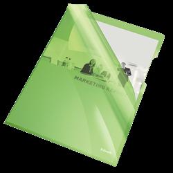 Ofertówki krystaliczne Esselte A4/25szt. 150 mic. - zielone