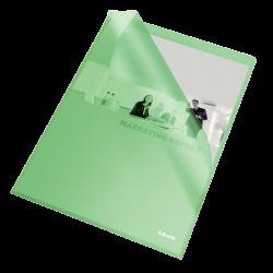 Ofertówki groszkowe Esselte A4/25szt. 115 mic. - zielone