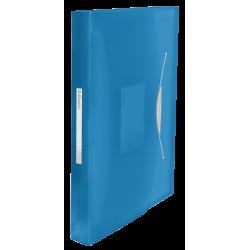 Teczka z 6 przegródkami Esselte Vivida - niebieska