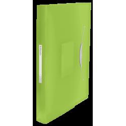 Teczka z 6 przegródkami Esselte Vivida - zielona