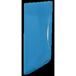 Teczka z gumką Esselte Vivida PP 15mm - niebieska