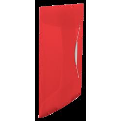 Teczka z gumką Esselte Vivida PP 15mm - czerwona