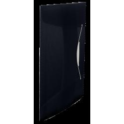 Teczka z gumką Esselte Vivida PP 15mm - czarna