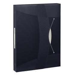 Teczka z gumką Esselte Vivida PP 40mm - czarna