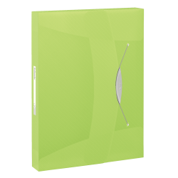 Teczka z gumką Esselte Vivida PP 40mm - zielona