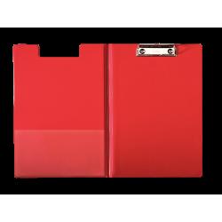 Deska z klipsem i okładką A4 Esselte - czerwona