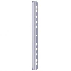 Listwa zaciskowa A4 Durable z paskiem do segregatora / 60 kartek - transparentna