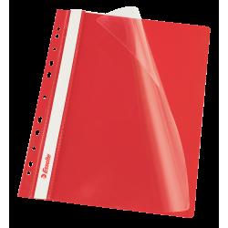 Skoroszyt wpinany Esselte Vivida - czerwony