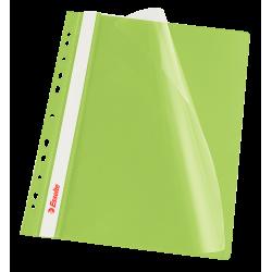Skoroszyt wpinany Esselte Vivida - zielony