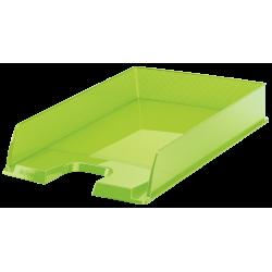 Półka na dokumenty Esselte Europost - przezroczysta zielony