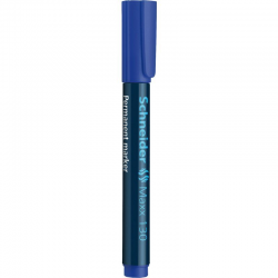 Marker permanentny Schneider MAXX 130 okrągły - niebieski