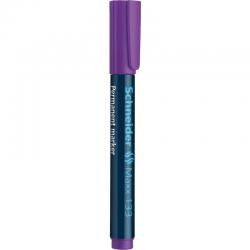 Marker permanentny Schneider MAXX 133 ścięty - fioletowy