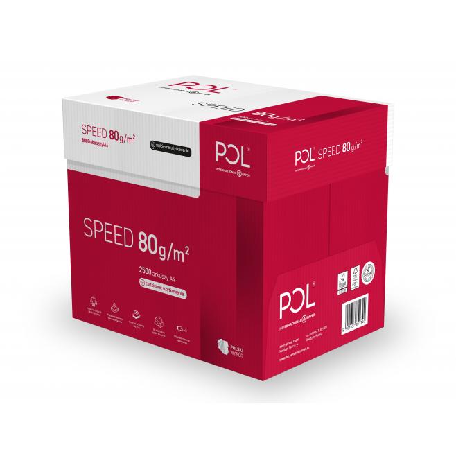 Papier ksero Polspeed 80g - A4 - 5 ryz (2500 arkuszy)