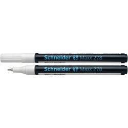 Marker olejowy Schneider MAXX 278, 0,8mm - biały
