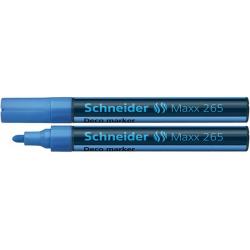 Marker kredowy Schneider MAXX 265 Deco, 2-3 mm - jasnoniebieski