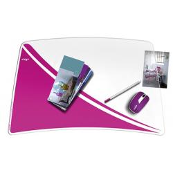 Podkładka na biurko CEP Pro Gloss - różowa