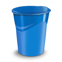 Kosz na śmieci CEP Pro Gloss - niebieski