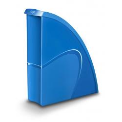 Pojemnik na dokumenty CEPPro Gloss - niebieski