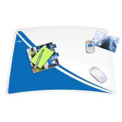 Podkładka na biurko CEP Pro Gloss - niebieska