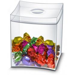 Pudełko na słodycze CEP Take A Break - przezroczyste