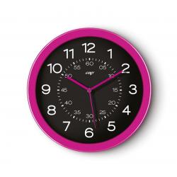 Zegar ścienny CEP Pro Gloss 30cm - różowy