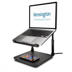 Podstawa pod laptop Kensington SmartFit z bezprzewodową podkładką do ładowania telefonu