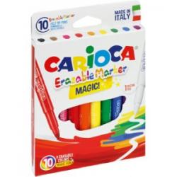 Pisaki wymazywalne Carioca Laser - 9+1szt.