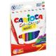 Pisaki zmieniające kolor Carioca Color Change - 9+1szt.