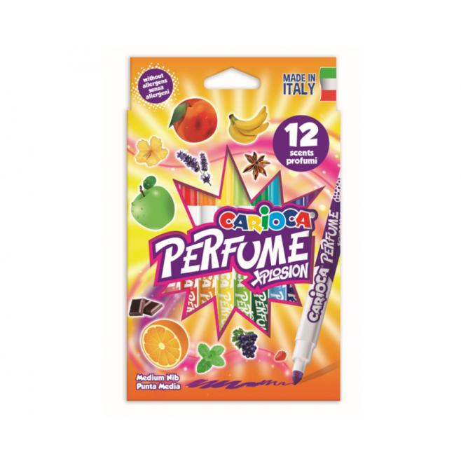 Pisaki zapachowe Carioca Perfume Xplosion - 12 kolorów