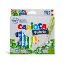 Pisaki do tkanin Carioca Fabric - 12 kolorów