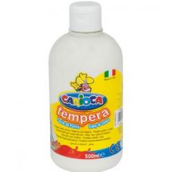 Farba Carioca Tempera 500 ml - biała