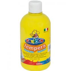 Farba Carioca Tempera 500 ml - żółta