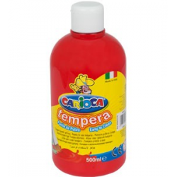 Farba Carioca Tempera 500 ml - czerwona