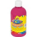 Farba Carioca Tempera 500 ml - ciemnoróżowa