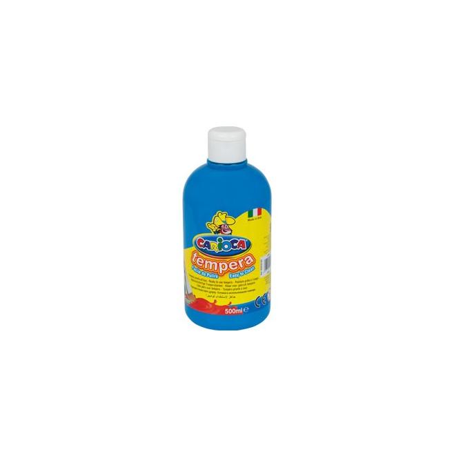 Farba Carioca Tempera 500 ml - błękitna