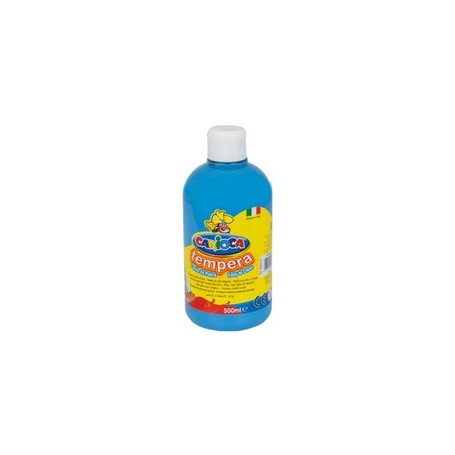 Farba Carioca Tempera 500 ml - jasnoniebieska