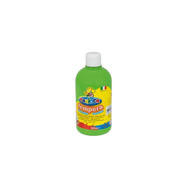 Farba Carioca Tempera 500 ml - jasnozielony