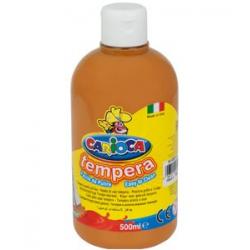 Farba Carioca Tempera 500 ml - jasny brąz